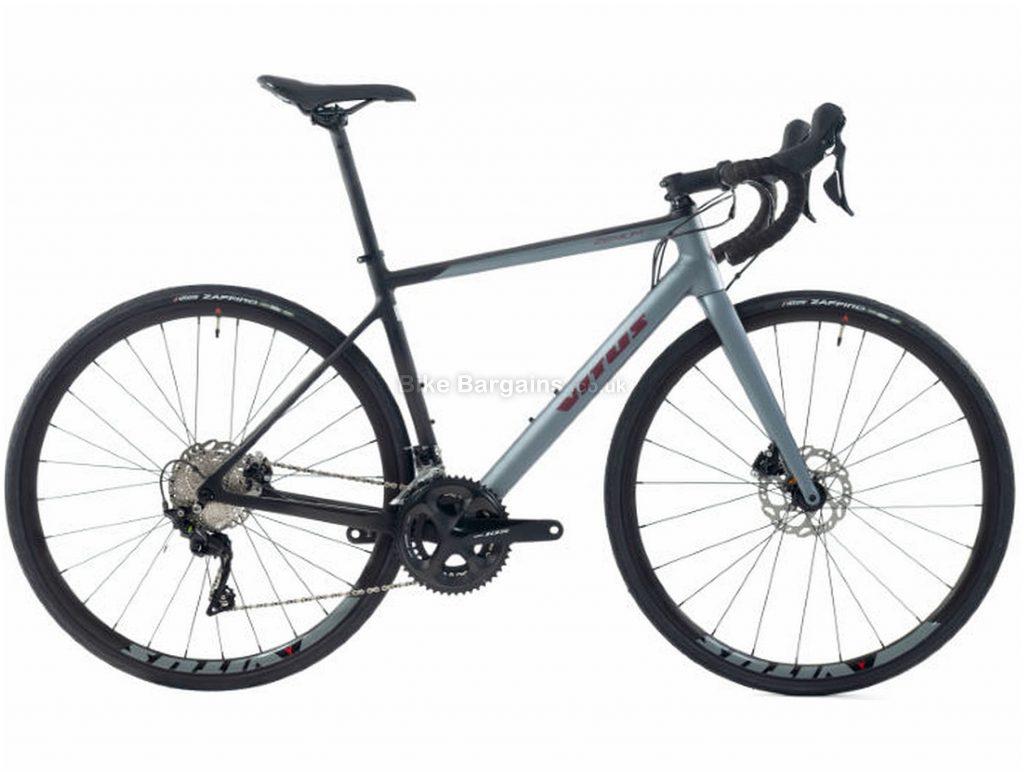 Vitus Zenium CRW 105 Carbon Road Bike 2019 M, Grey, Carbon, 700c, 11 Speed, Double Chainring, Disc, 9.5kg