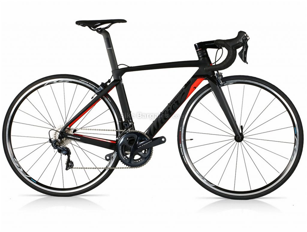 Wilier Cento 1 Air Ultegra Carbon Road Bike 2018 XS, Black, Red, Carbon, 700c, 11 Speed, Double Chainring, Caliper Brakes