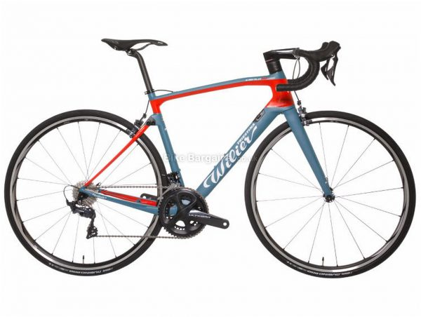 Wilier Cento10NDR Ultegra Carbon Road Bike 2019 XS, Blue, Red, Carbon, 700c, 11 Speed, Double Chainring, Caliper Brakes