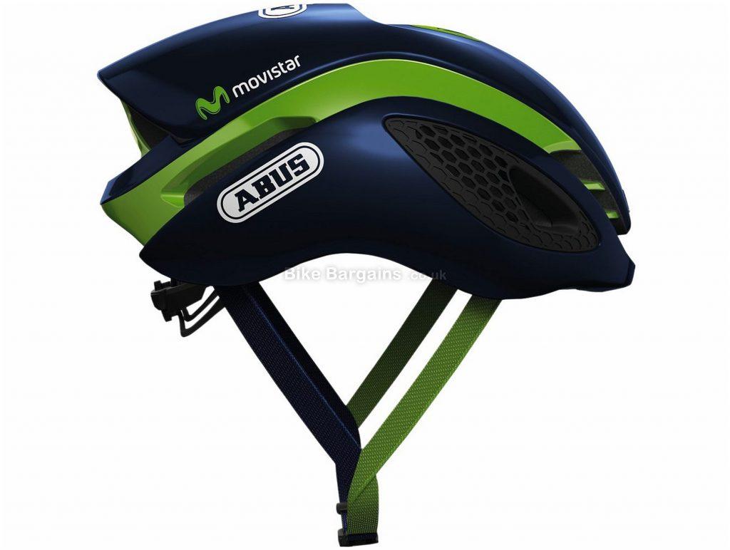 Abus Gamechanger Movistar Helmet S, Blue, Green