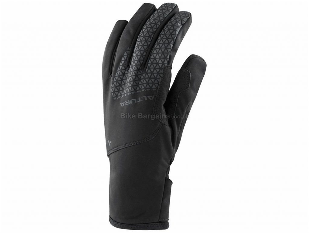 Altura Thunderstorm Water Windproof Gloves S, Black