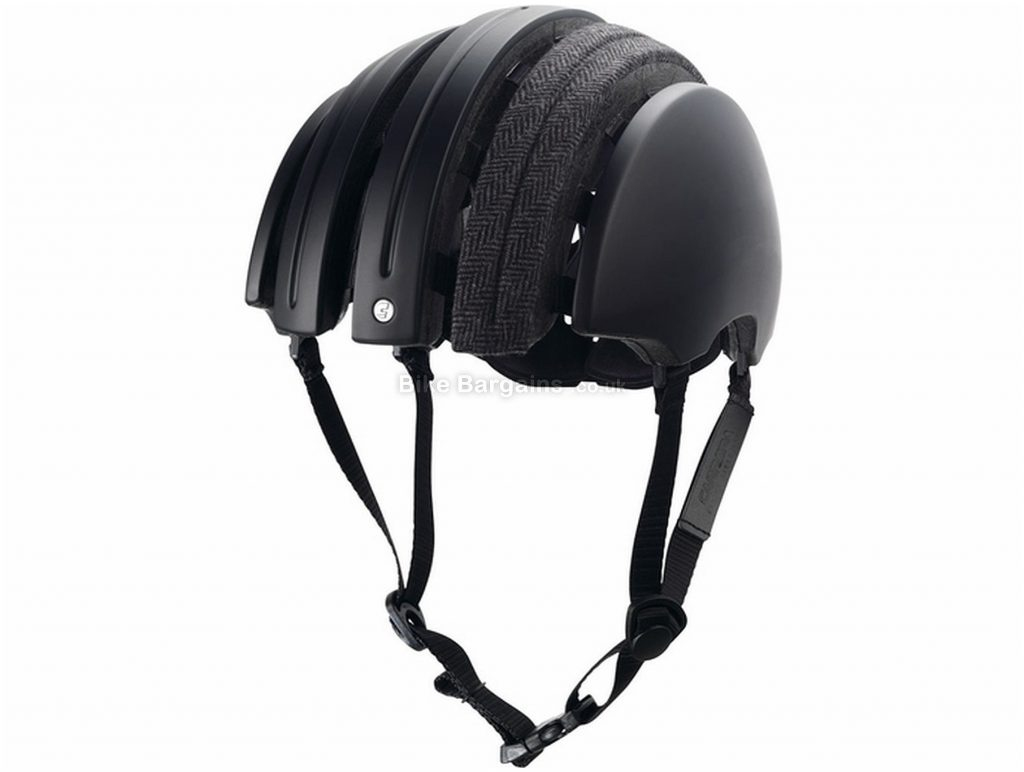 Brooks JB Special Carrera Folding Helmet M, Black