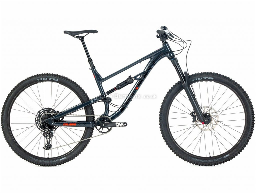 Calibre Sentry Enduro Alloy Full Suspension Mountain Bike M, Black, Alloy, 16.2kg, 12 Speed, Single Chainring, Disc, 29""