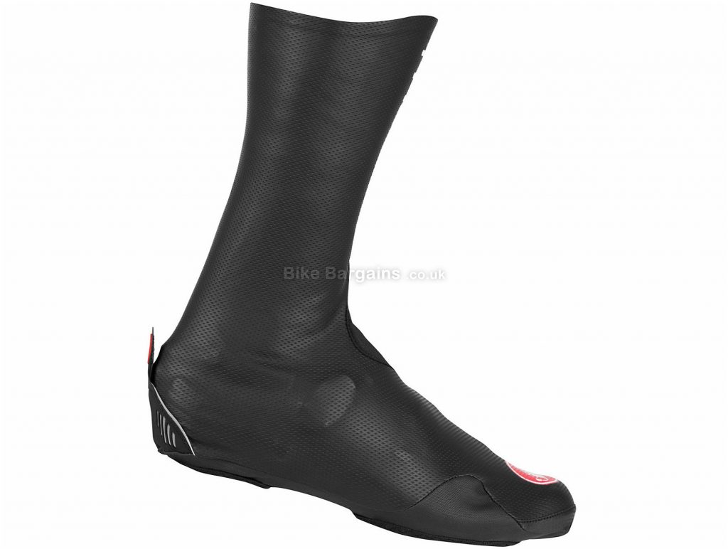 Castelli ROS Overshoes S,M,L,XL,XXL, Black, Polyurethane, Polyester