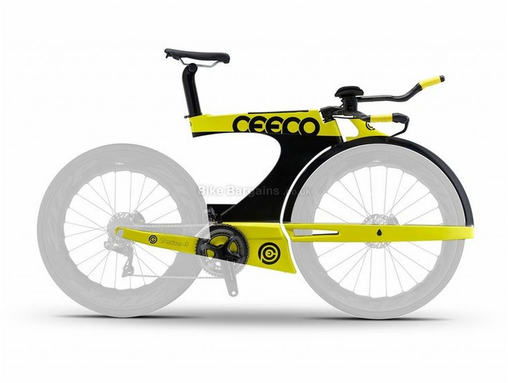 Ceepo Shadow-R Carbon Frame M, Black, Yellow, Disc, Carbon