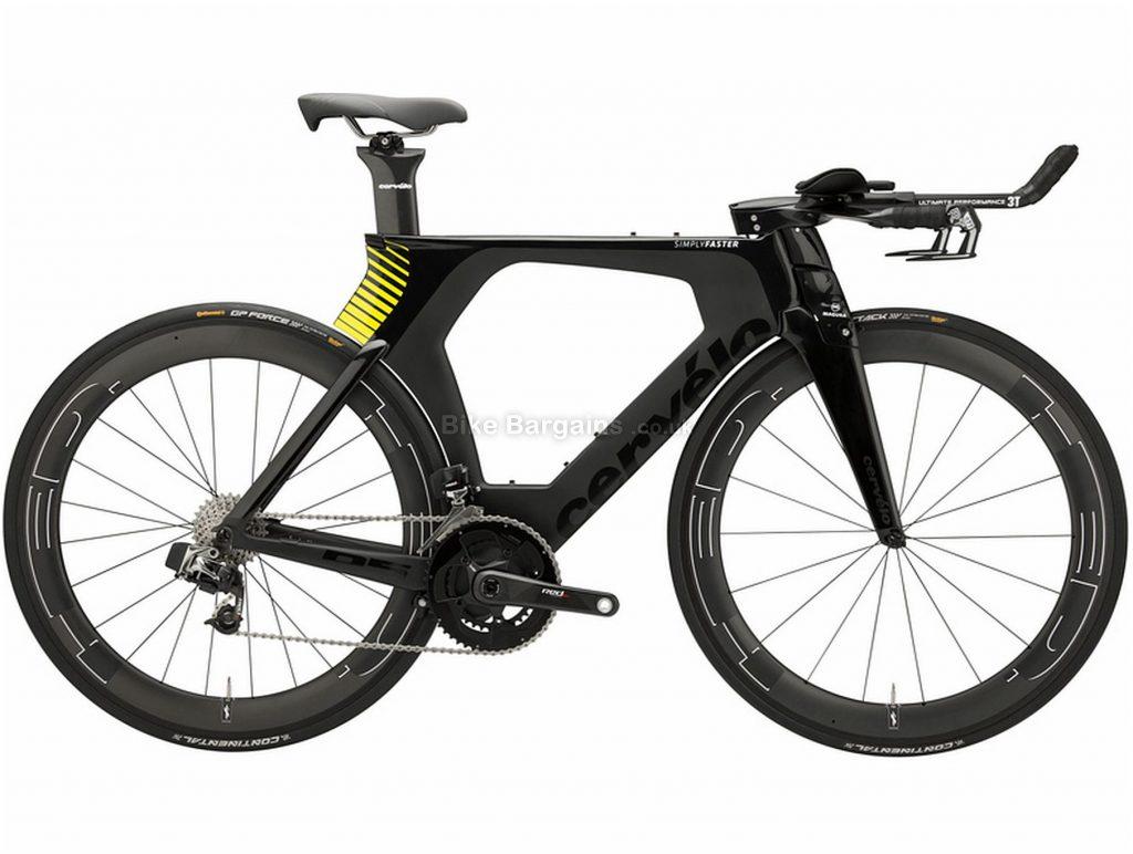 Cervelo P5 Etap Carbon Road Bike 2018 58cm, Black, Carbon, 11 Speed, Double Chainring, Caliper brakes, 700c