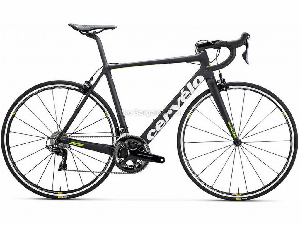 Cervelo R5 Dura-Ace Carbon Road Bike 2018 54cm,56cm, Black, Carbon, 11 Speed, Double Chainring, Caliper brakes, 700c