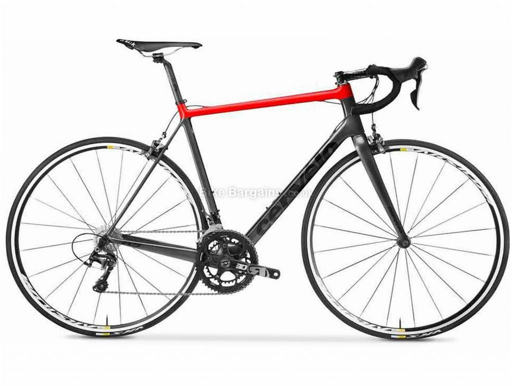 Cervelo R5 Ultegra 22G Carbon Road Bike 2016 56cm, Black, Red, Carbon, 11 Speed, Double Chainring, Caliper brakes, 700c