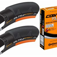 Continental Ultra Sport II Wire Tyres and Tubes