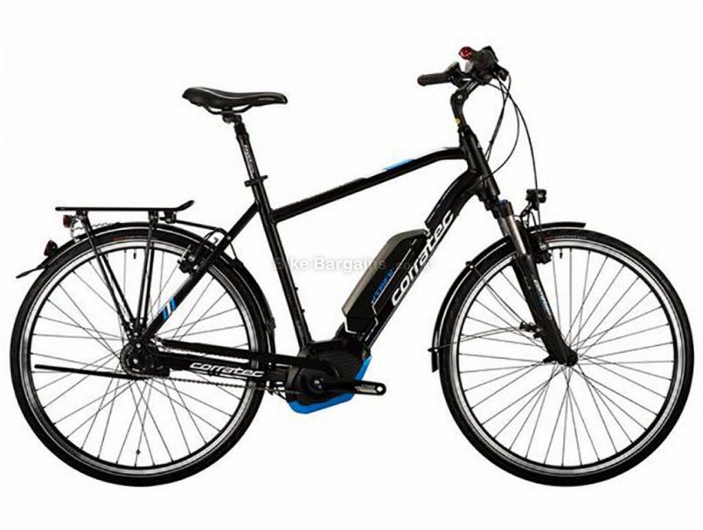 Corratec E-Power 28 Active 8 500W Bosch Alloy Hybrid E-Bike 48cm, Black, Alloy, 8 Speed, Single Chainring, Caliper brakes, 700c