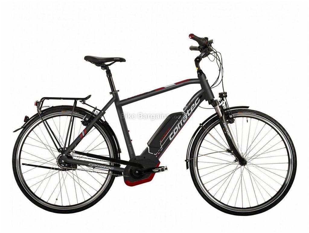 Corratec E-Power 28 Active 8 Coaster 400W Bosch Alloy Hybrid E-Bike 54cm, Black, Brown, Alloy, 8 Speed, Single Chainring, Caliper brakes, 700c