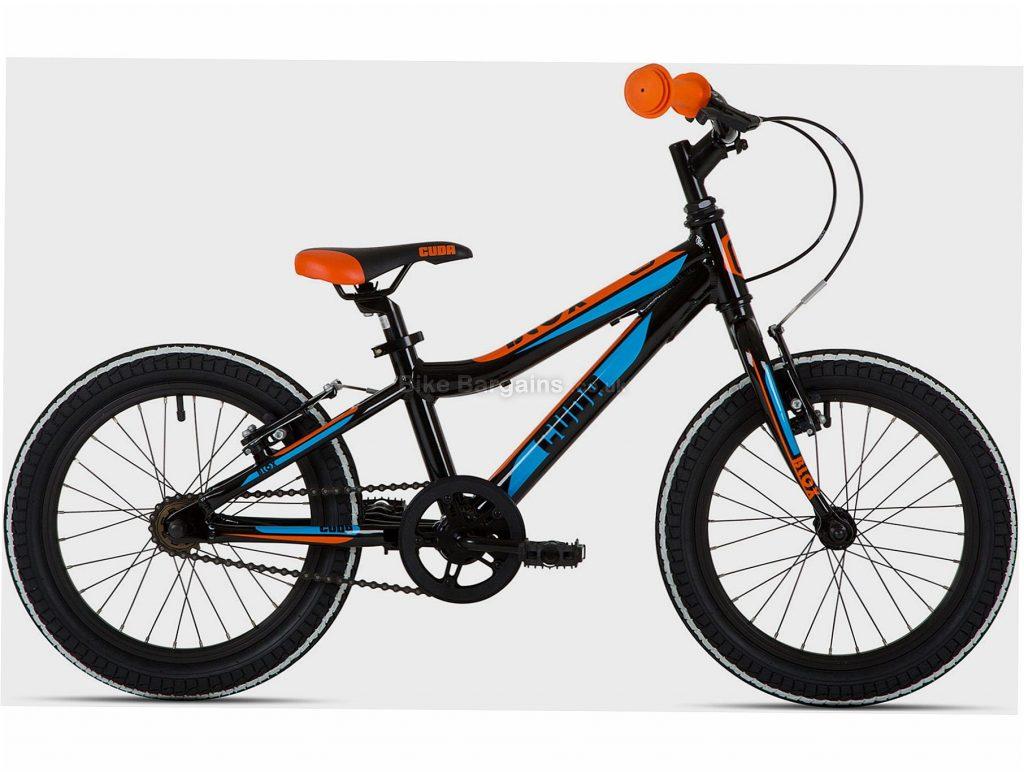 "Cuda Blox 14"" Pavement Alloy Kids Bike One Size, Black, Blue, Orange, Alloy, 8.9kg, Single Speed, Single Chainring, Caliper brakes, 29"""