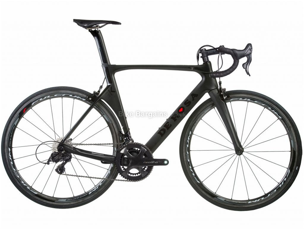De Rosa SK Record Carbon Road Bike 2019 50cm, Black, Carbon, Double Chainring, Caliper Brakes, 12 Speed, 700c