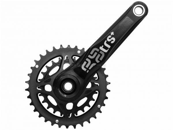 E Thirteen TRS+ 11 Speed Double MTB Chainset 2016 175mm, Black, Alloy, Double Chainring, 11 Speed,