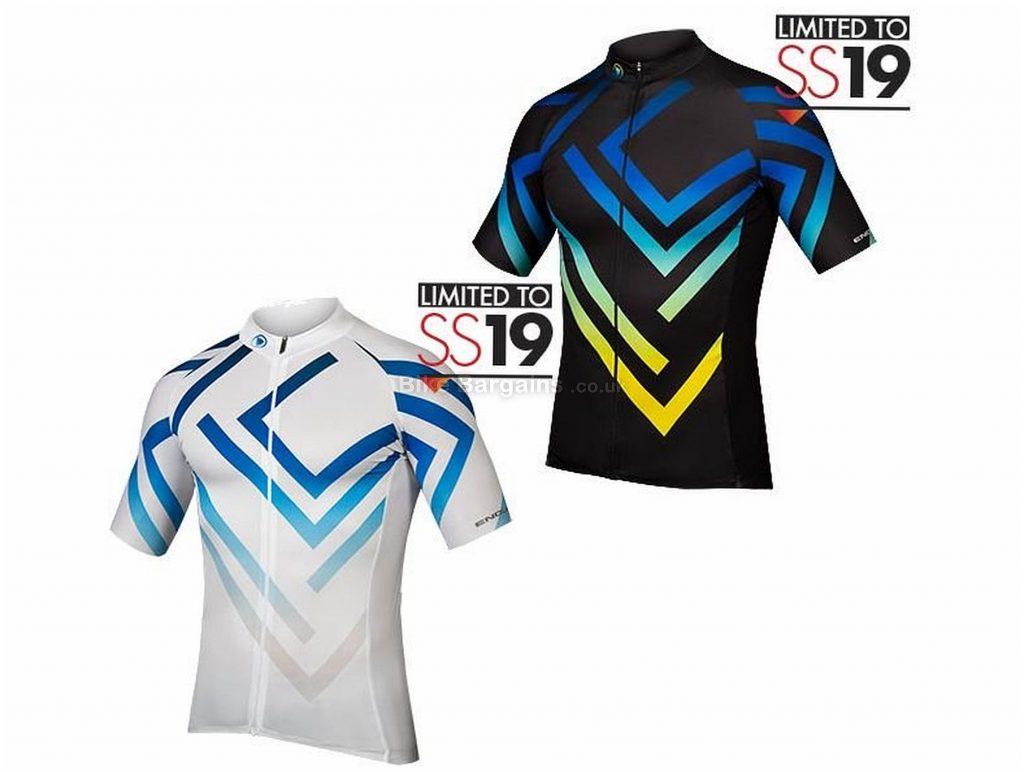 Endura Psychotropical Maze Limited Edition Short Sleeve Jersey 2019 M, Black, Men's, Short Sleeve, Polyester, Lycra