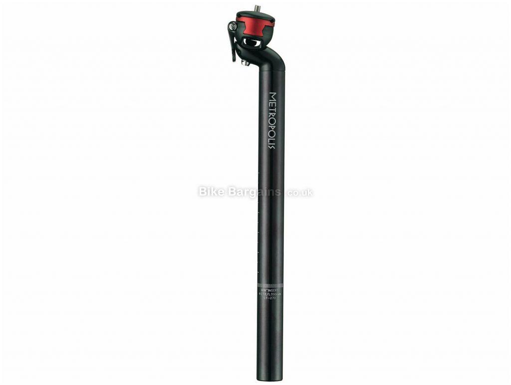 FSA Metropolis SB20 QR Seatpost 350mm, 31.6mm, Black