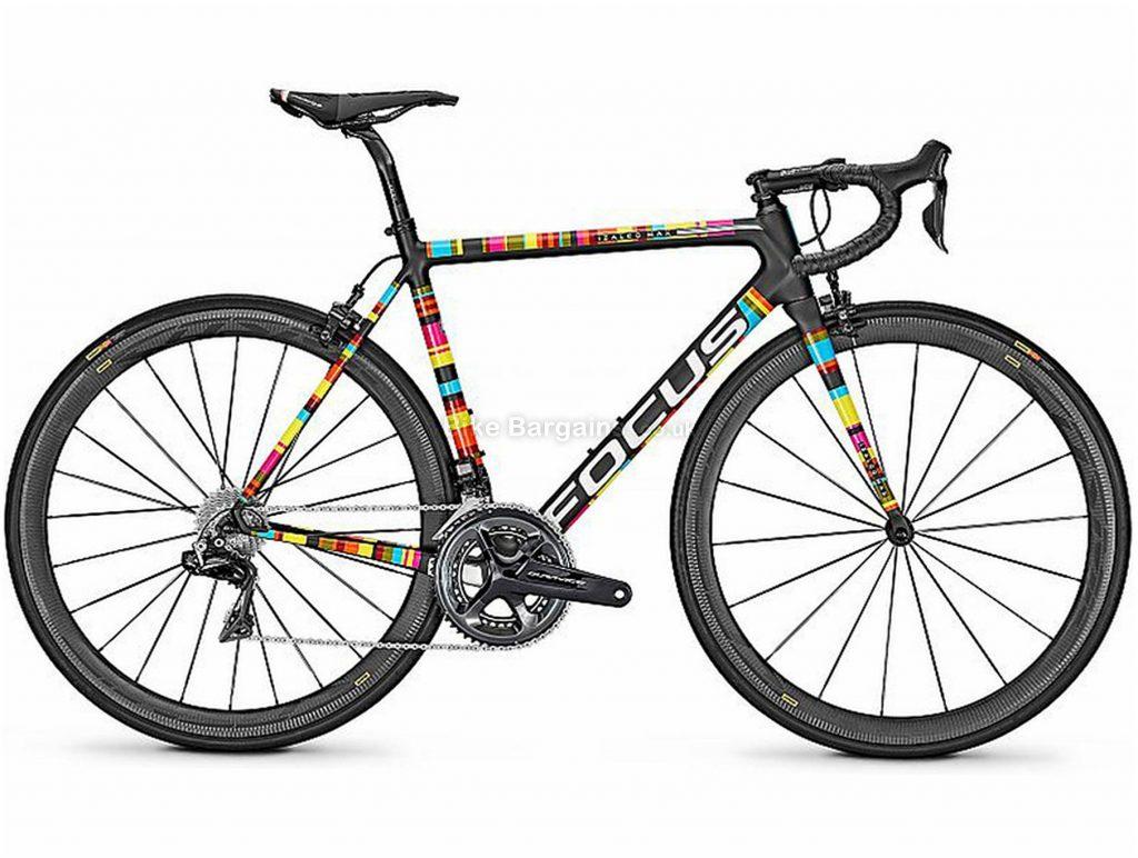 Focus Izalco Max Dura-Ace Di2 Carbon Road Bike 2018 L, Black, Carbon, 700c, Double Chainring, 11 Speed, Caliper Brakes,