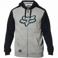 Fox Clothing Destrakt Zip Fleece Casual Hoodie