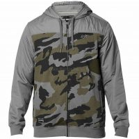 Fox Clothing Pivot Zip Casual Fleece Hoodie