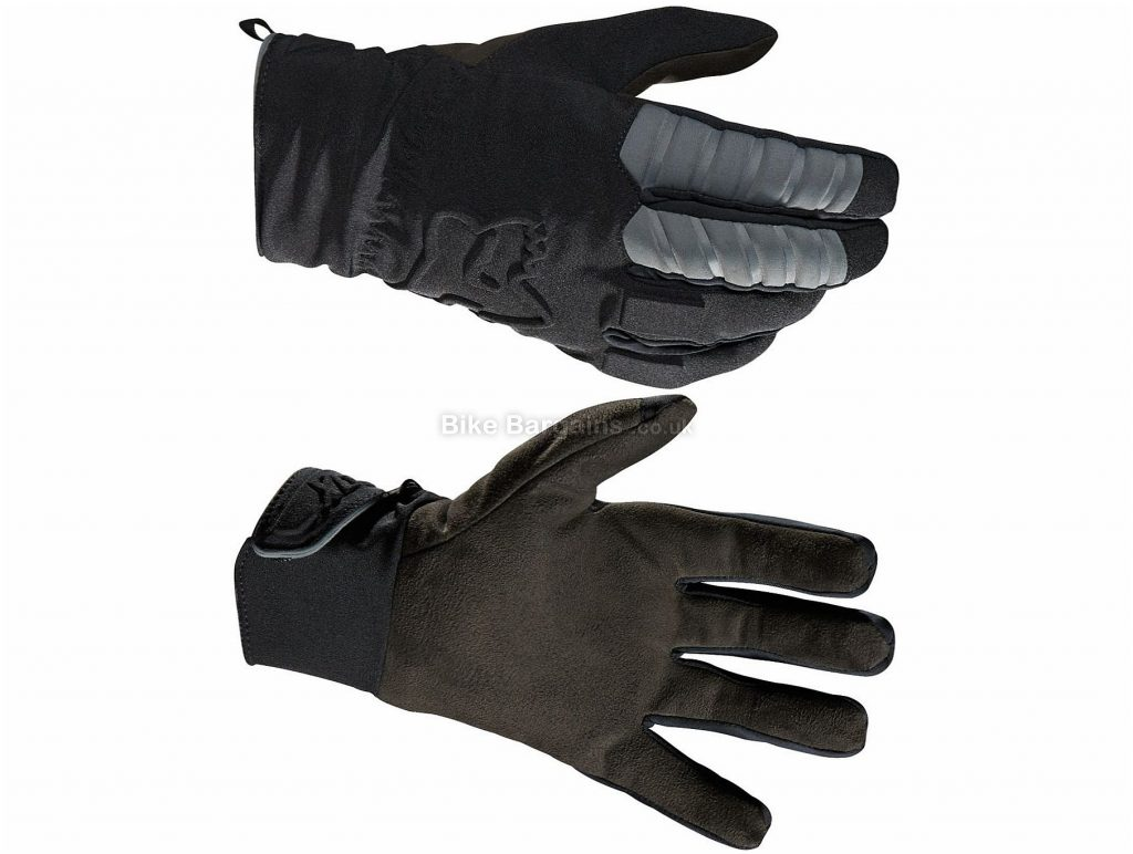 Fox Racing Forge CW Gloves 2017 S, Black, Full Finger, Polyamide, Polyester, Polychloride, Polyurethane