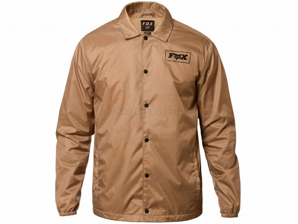 Fox Racing LAD Jacket S, Brown, Long Sleeve, Polyester