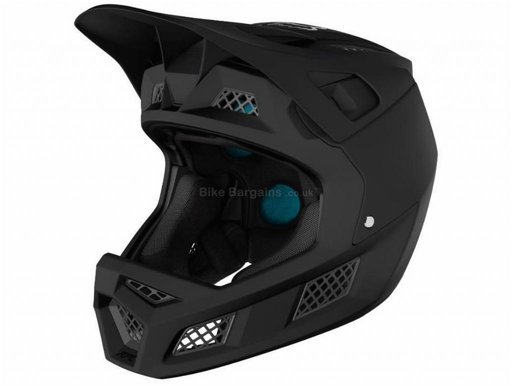 Fox Rampage Pro Carbon Full Face MTB Helmet M, Grey, Orange, Men's, Ladies, 19 vents, 1230g, Polycarbonate, Carbon