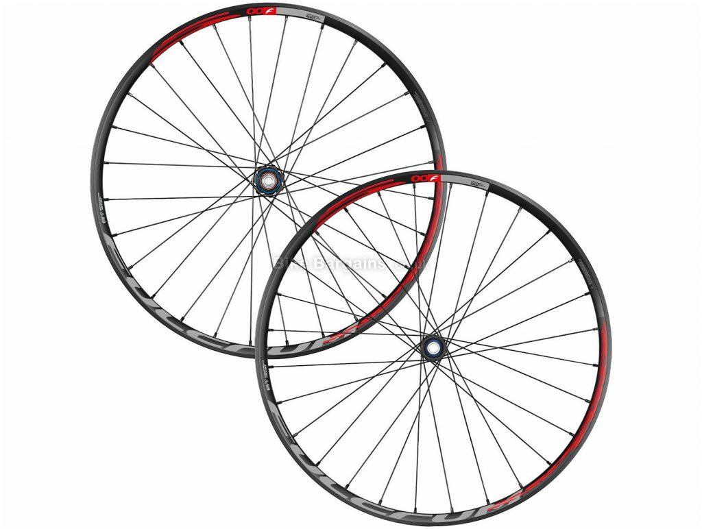 "Fulcrum Red Fire 500 27.5"" MTB Wheels 27.5"", Black, Red, Pair, Alloy, Disc, Pair, 1.91kg"