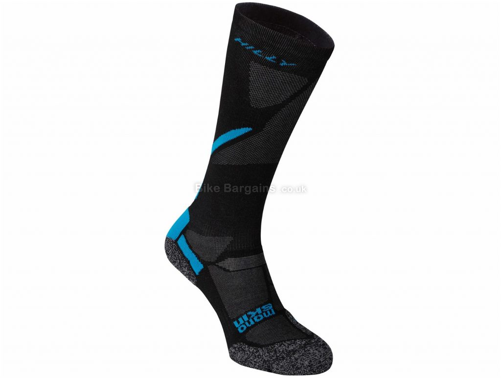 Hilly Energize Compression Socks L, Black, Blue