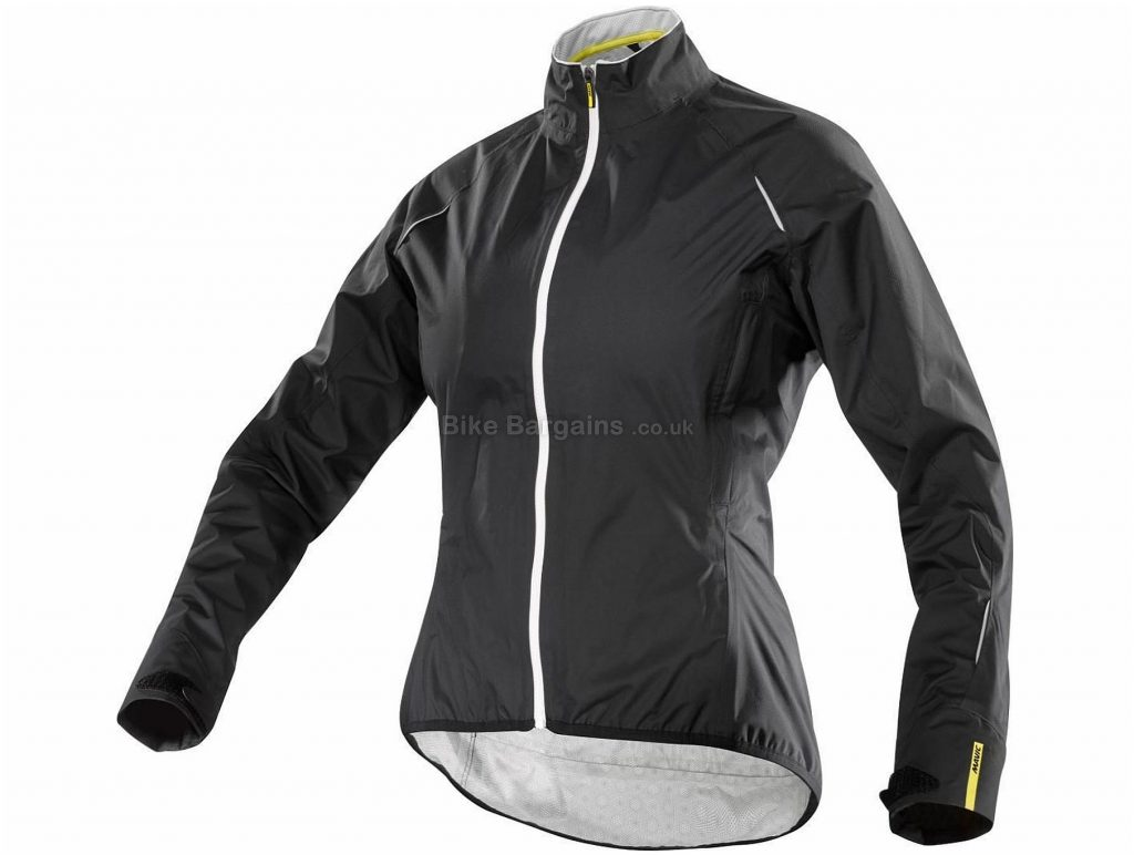 Mavic Ksyrium Elite H2O Ladies Jacket 2016 S, Black, Ladies, Long Sleeve, Polyester