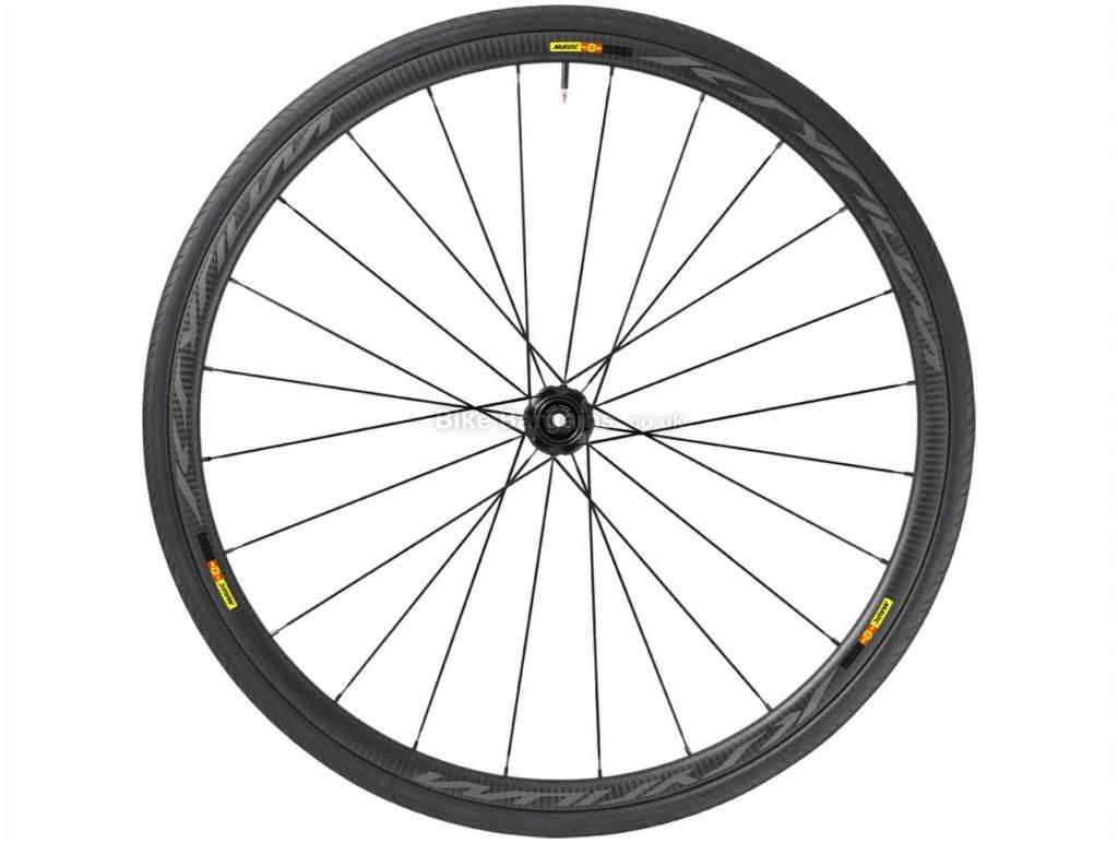 Mavic Kysrium Pro Carbon SL T Disc Rear Road Wheel 700c, Rear, Black, Carbon, Disc, Rear, 675g