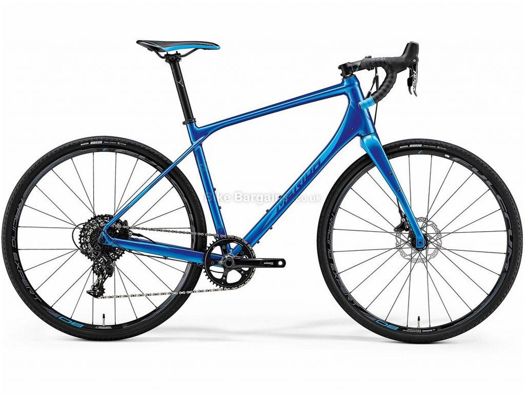 Merida Silex 600 Alloy Gravel Bike 2019 M, L is extra, Blue, Alloy, 700c, Disc, 11 Speed, Single Chainring