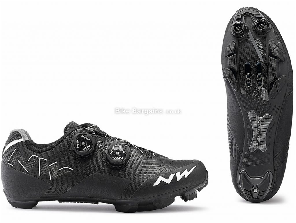 Northwave Rebel Ladies MTB Shoes 2019 36, Black, White, Boa