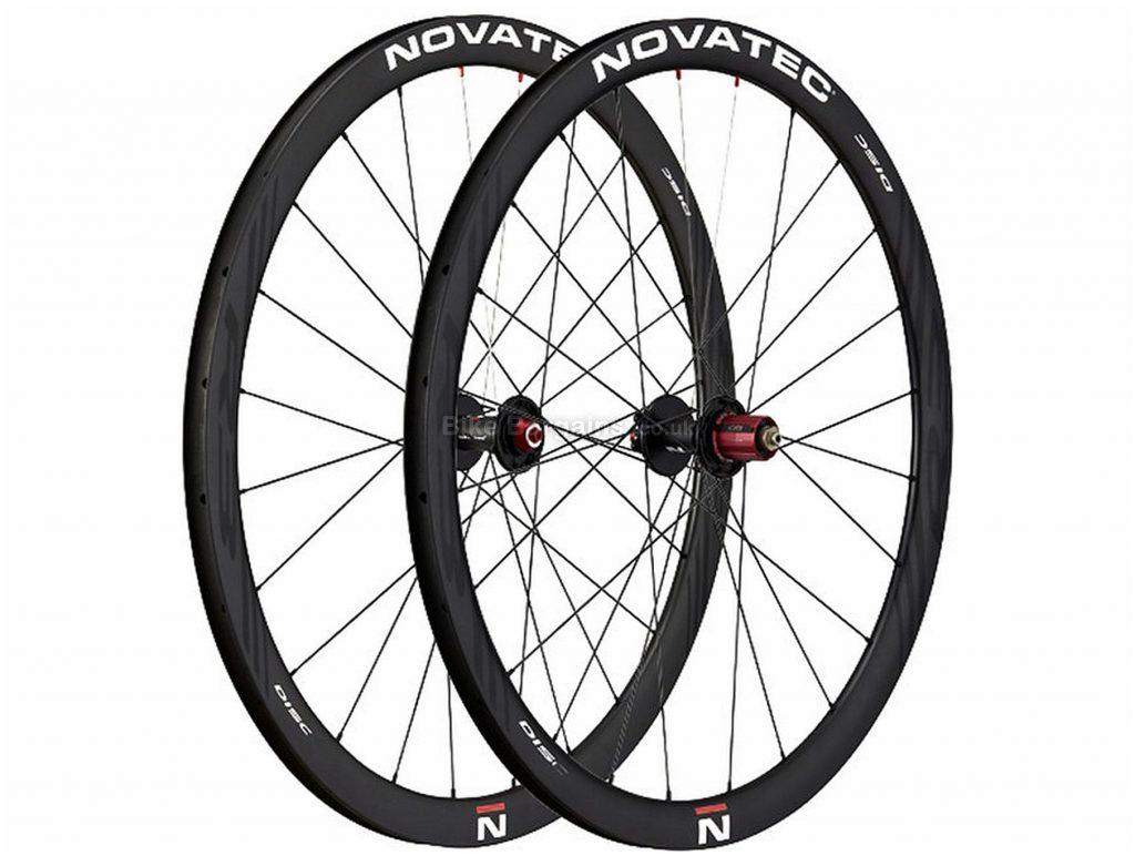 Novatec R3 Carbon Clincher Disc Road Wheels 700c, Black, Pair, Carbon, Shimano Hub, Disc, Pair, 1.58kg