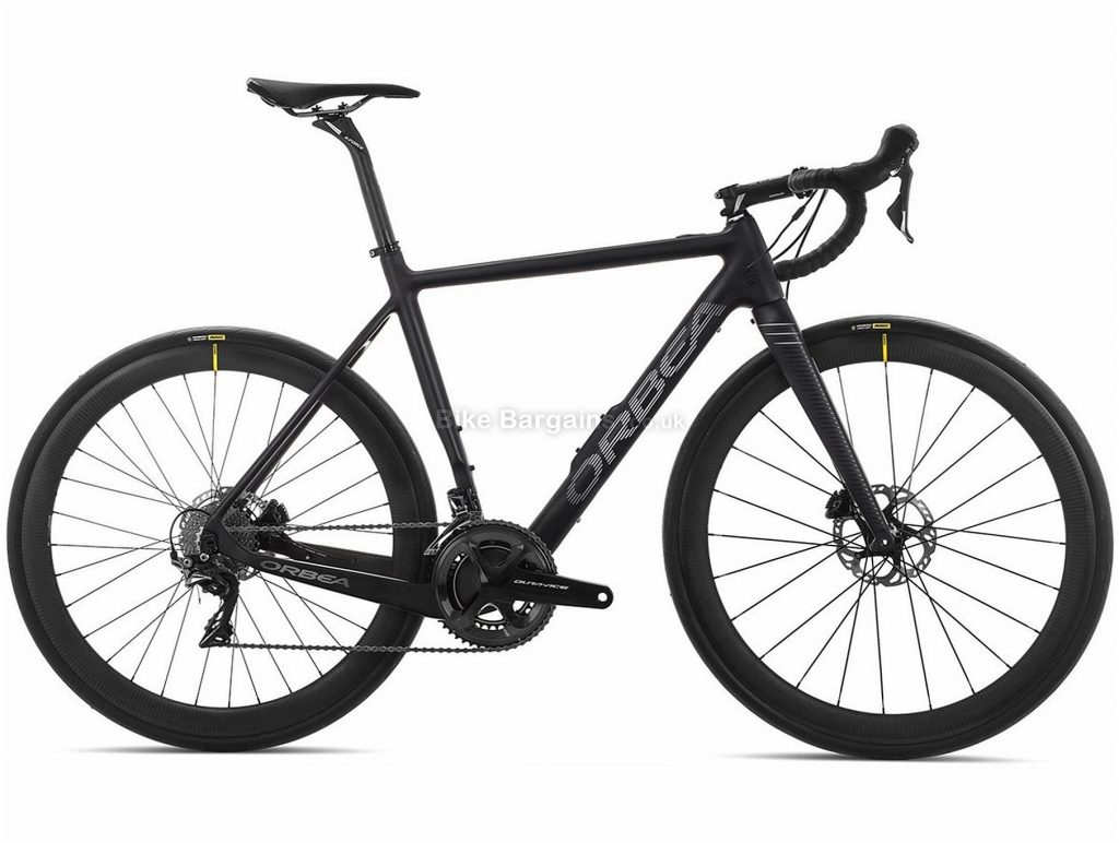 Orbea Gain M10 Carbon Electric Road Bike 2019 S, Black, Carbon, 700c, Disc, 11 Speed, Double Chainring