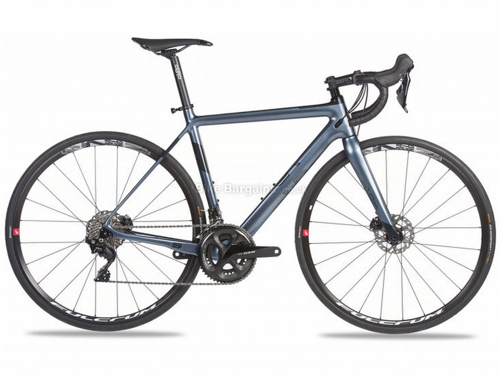 Orro Pyro Evo 7020-Hydro R900 Carbon Road Bike 2020 XS, Grey, Blue, Carbon, 11 Speed, Double Chainring, Disc, 700c