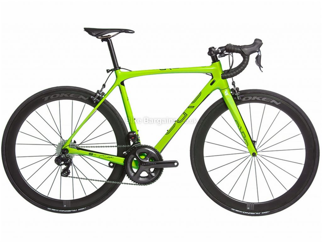 Orro Signature Gold STC 8050 Carbon Road Bike 2018 S, Green, Carbon, 11 Speed, Double Chainring, Caliper brakes, 700c