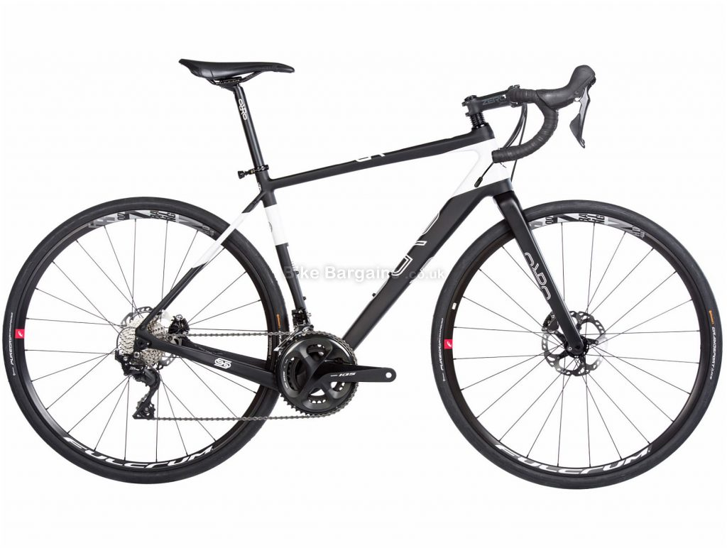 Orro TERRA C 105 Hydro Racing Carbon Road Bike 2019 XS, Black, Carbon, Double Chainring, Disc, 11 Speed, 700c