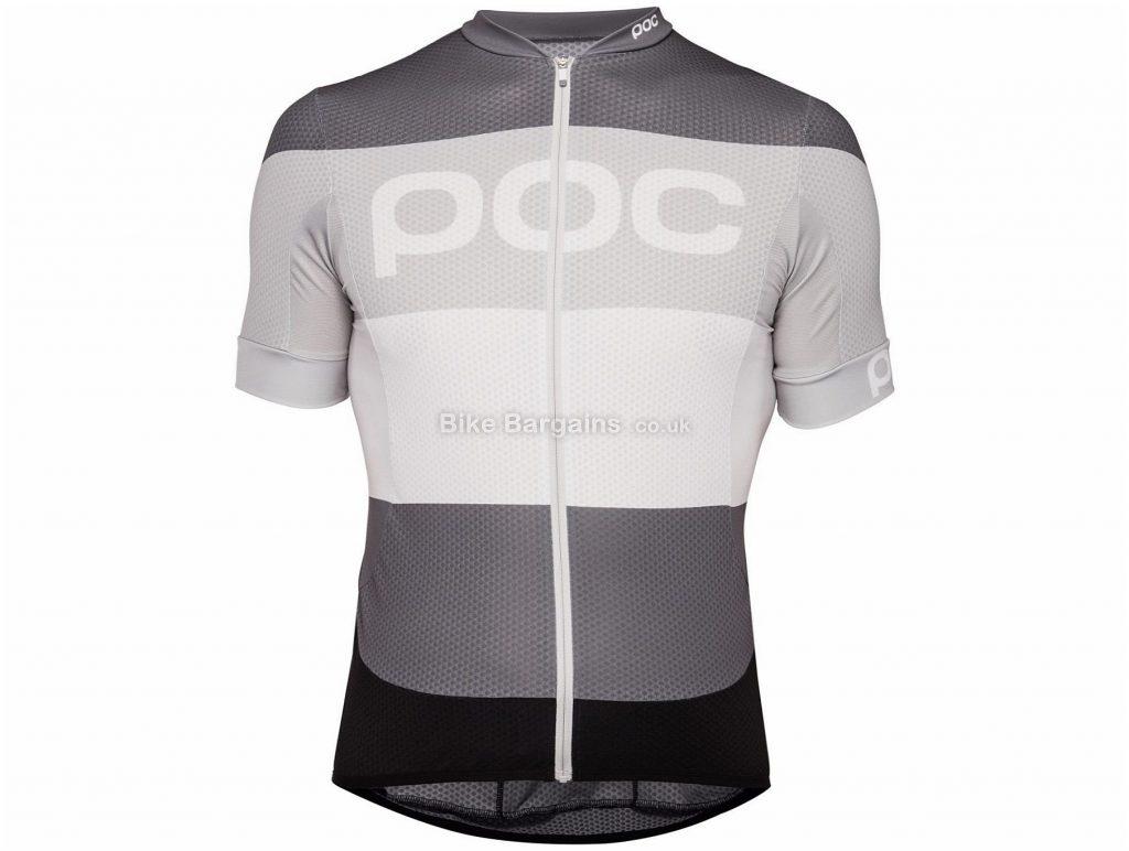 Poc Essential Road Logo Short Sleeve Jersey XS, Grey, Men's, Short Sleeve, Polyester