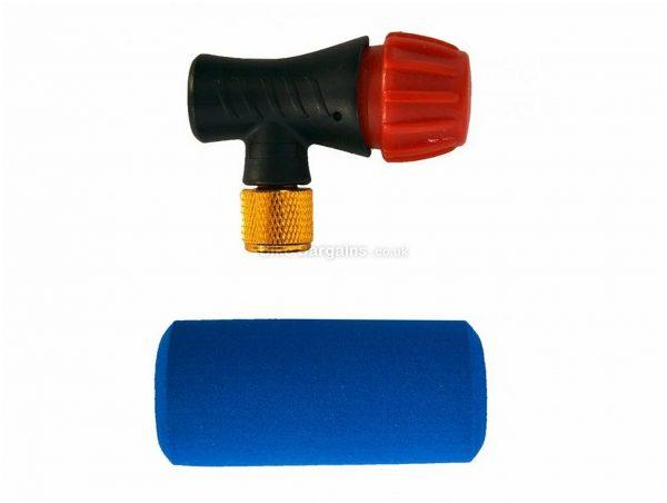 Ribble CO2 Inflator Presta, Schrader, One Size, Black, Red, Blue