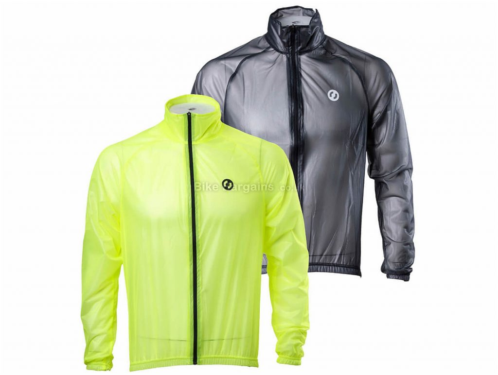 Ride Protector Jacket S, Black, Yellow, Long Sleeve, Polyester