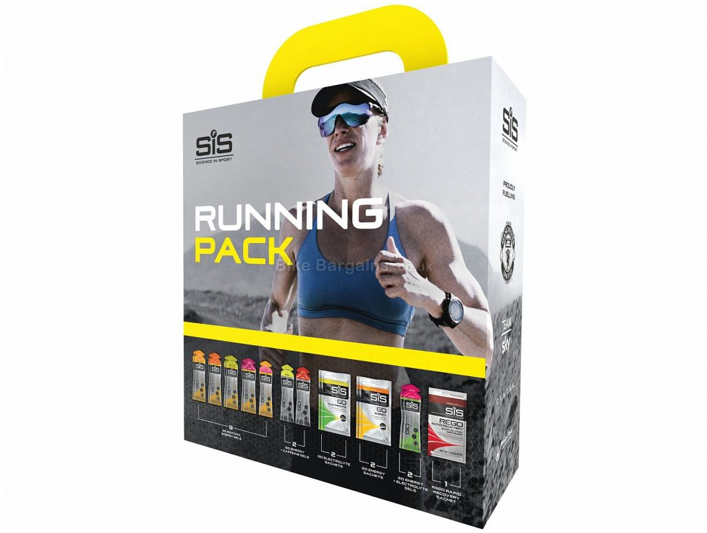 Science in Sport Running Gel Pack One Size, Yellow, Grey