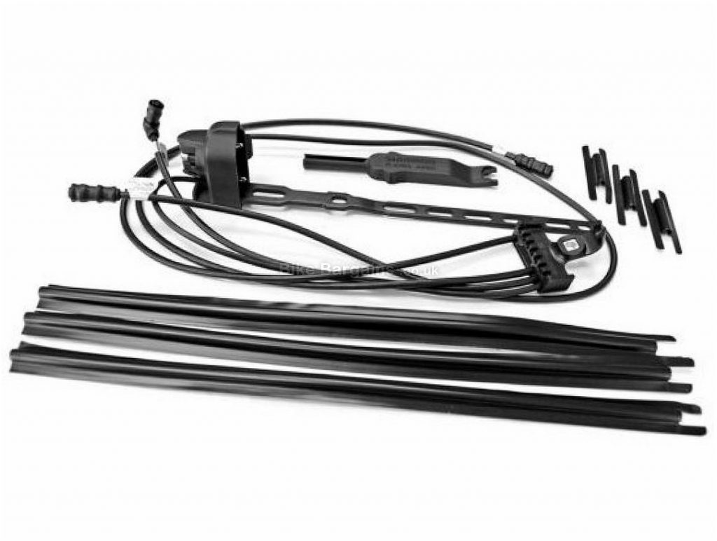 Shimano Dura Ace EW-7970 Di2 Derailleur To Battery External Cable Set 770mm, Black