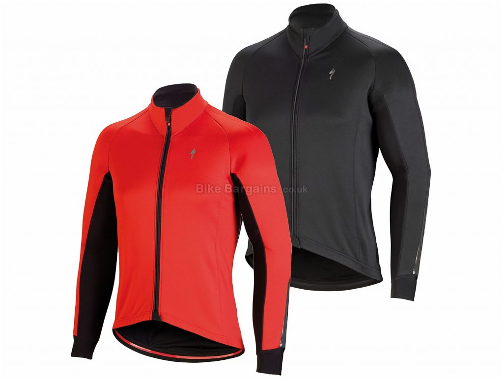 Specialized Element Rbx Comp Hv Waterproof Jacket 2019 L,XL, Black, Red, Men's, Long Sleeve, Polyester
