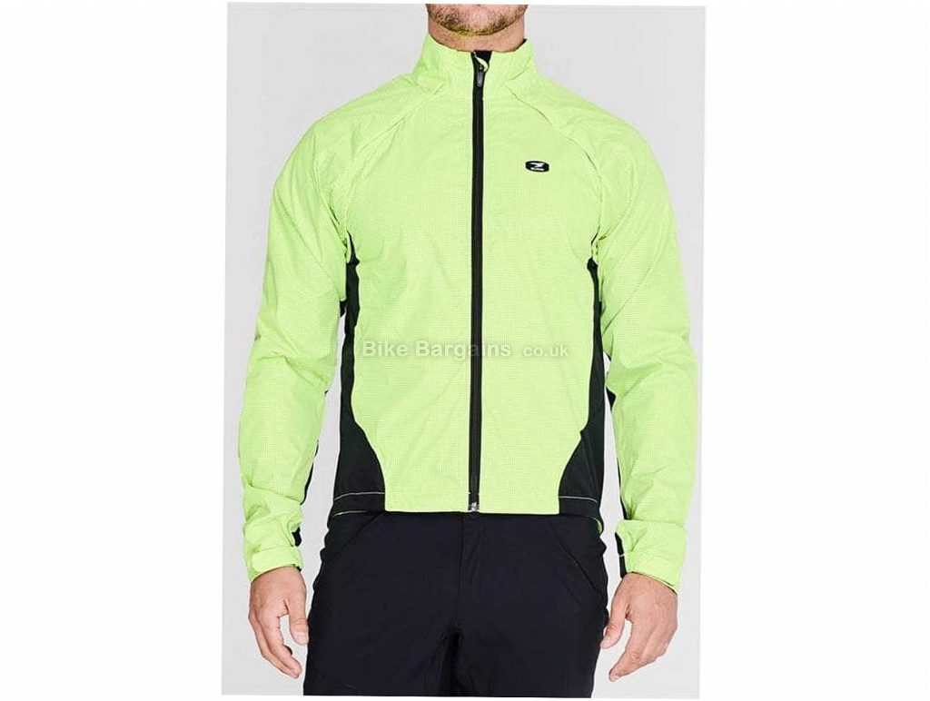 Sugoi Zap Versa Jacket XL, Yellow, Red, Polyester, MTB, Road
