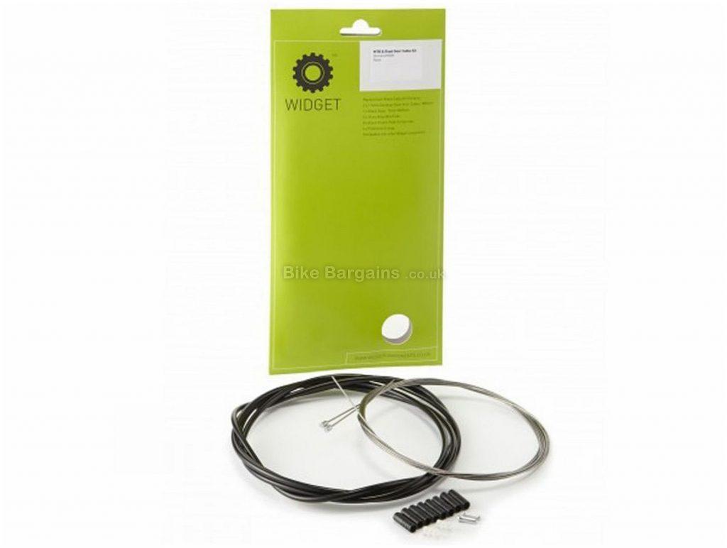 Widget MTB Road Gear Cable Kit One Size, Silver, Steel, Nylon,