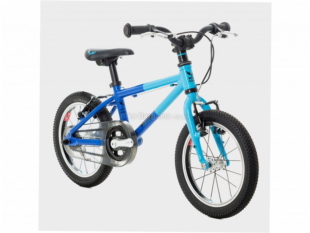 "Wild Bikes Wild 14 Alloy Kids Bike One Size, Blue, Alloy, 5.8kg, Single Speed, Single Chainring, Caliper brakes, 14"""
