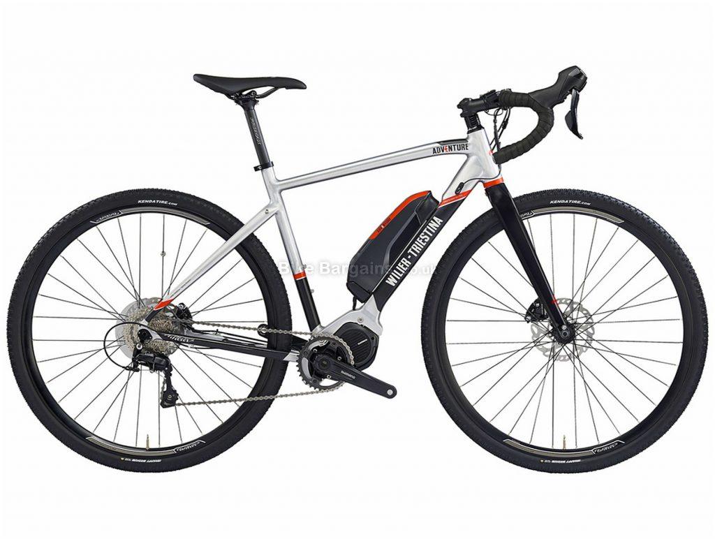 Wilier E-Adventure Carbon Gravel E-Bike M,L, Silver, Black, Red, Alloy, Disc, Single Chainring, 11 Speed,