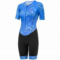 dhb Blok Ladies Sakura Short Sleeve Tri Suit