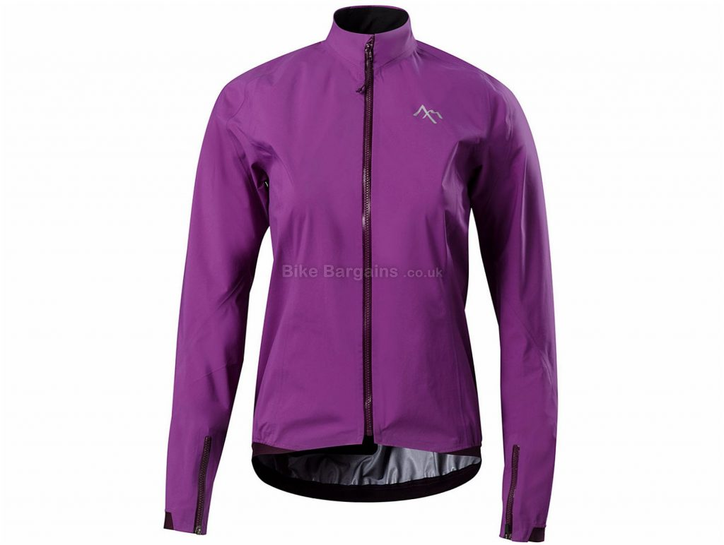 7Mesh Ladies Re:Gen Jacket S, Black, Gore-Tex, Waterproof & Windproof, 210g, Long Sleeve, Ladies, Polyamide, Polyester