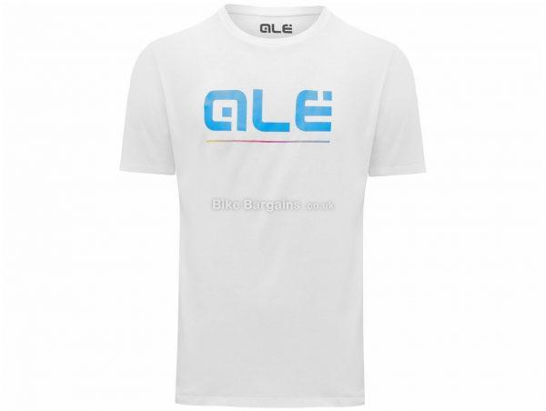 Ale Blue Classic Logo T-Shirt L,XL, Black, White, Casual Fit, Short Sleeve, Cotton